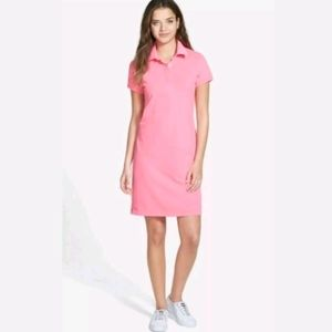 Vineyard Vines Short Sleeve Polo Shirt Dress LOGO